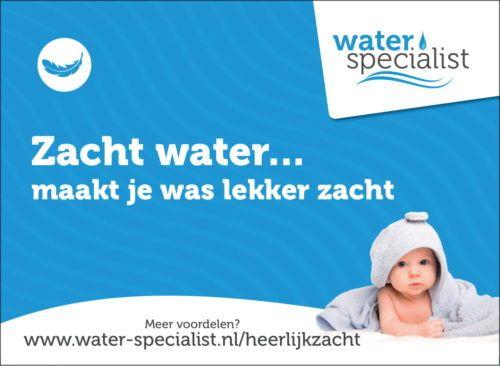 Zacht water maakt je was lekker zacht