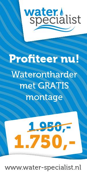 Waterontharder gratis montage